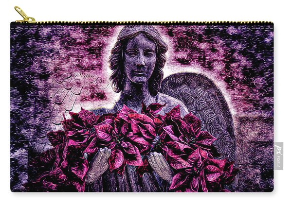 Stone Angel Carry-all Pouch