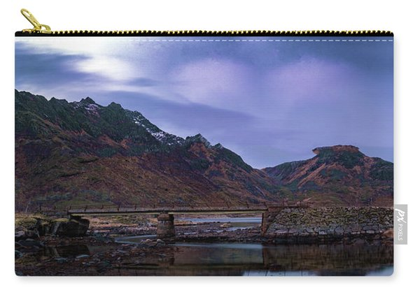 Stone Bridge On Lofoten Islands  Carry-all Pouch