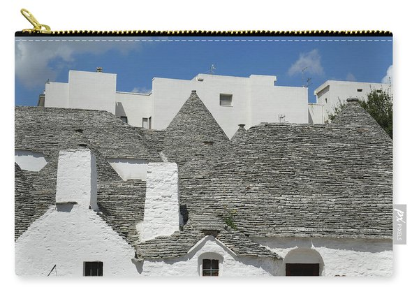 Stone Coned Rooves Of Trulli Houses Carry-all Pouch