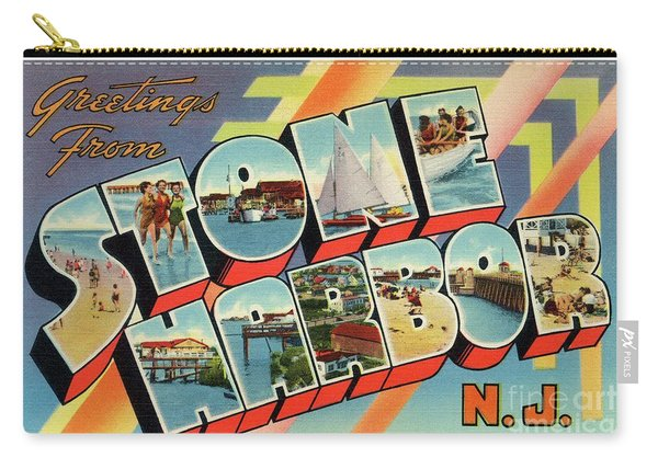 Stone Harbor Greetings Carry-all Pouch