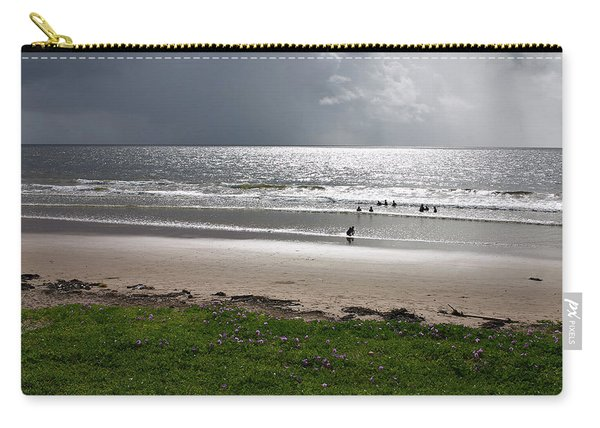 Storm Brewing Over The Sea Carry-all Pouch