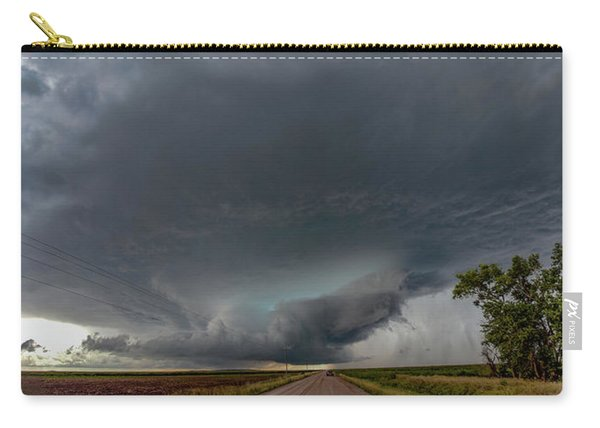 Storm Chasin In Nader Alley 008 Carry-all Pouch