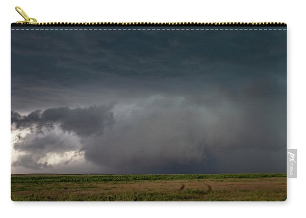 Carry-all Pouch featuring the photograph Storm Chasin In Nader Alley 030 by NebraskaSC