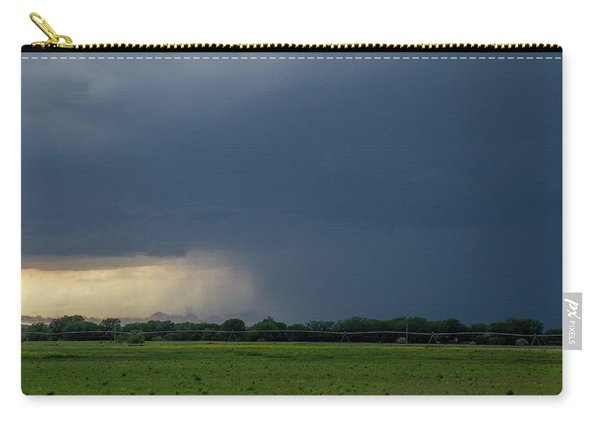 Carry-all Pouch featuring the photograph Storm Chasing West South Central Nebraska 002 by Dale Kaminski
