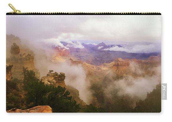 Storm In The Canyon Carry-all Pouch