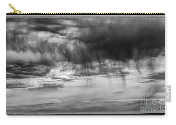 Stormy Sky In Black And White Carry-all Pouch