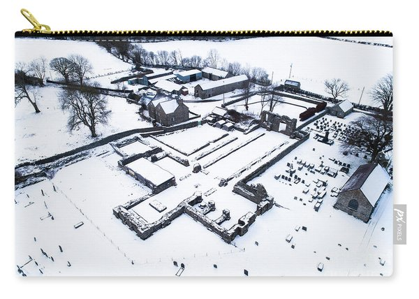 Strata Florida Abbey Ruins In The Snow Carry-all Pouch
