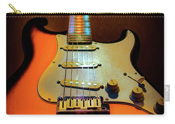 Stratocaster Triburst Glow Neck Series Carry-all Pouch