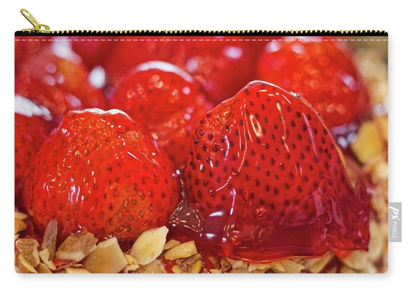 Strawberry Glaze Carry-all Pouch