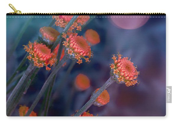 Strawflowers Carry-all Pouch