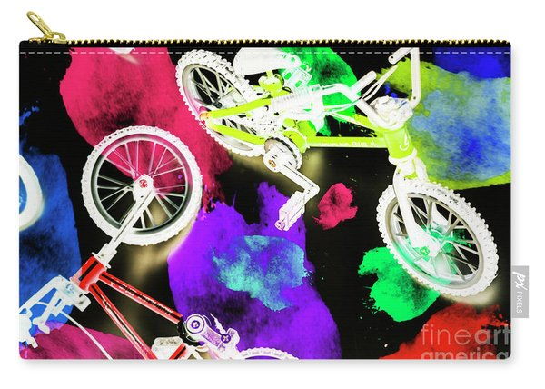 Street Bike Art Carry-all Pouch