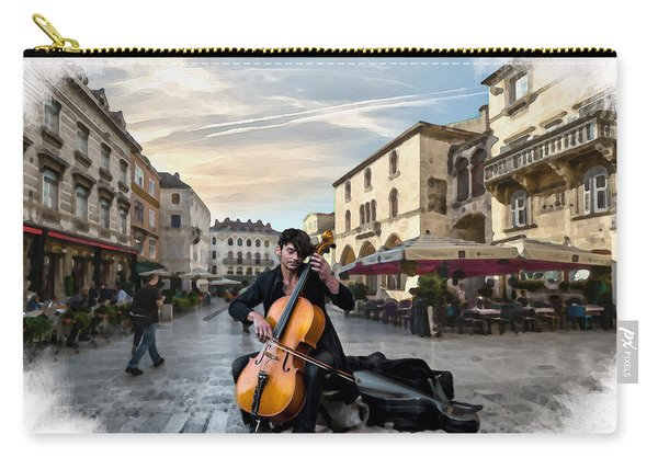 Street Music. Cello. Carry-all Pouch