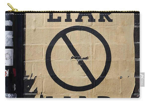 Street Poster - Liar Liar 2 Carry-all Pouch