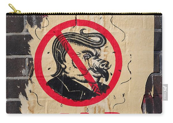 Street Poster - Liar Liar Carry-all Pouch