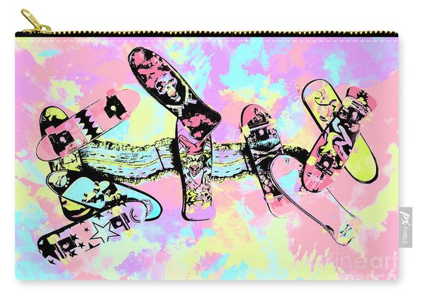 Street Sk8 Pop Art Carry-all Pouch