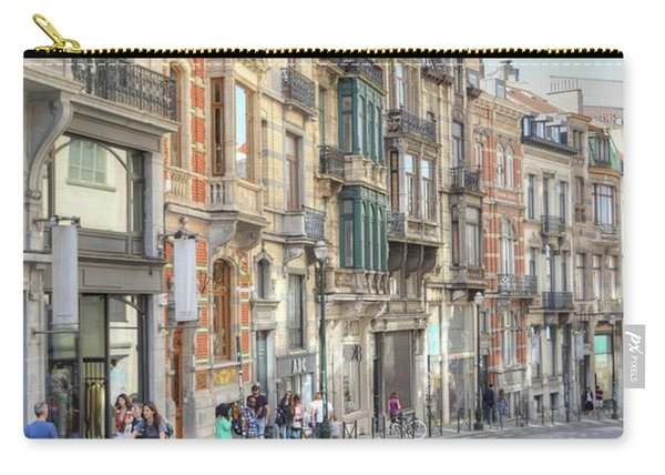 Streets Of Basel Carry-all Pouch