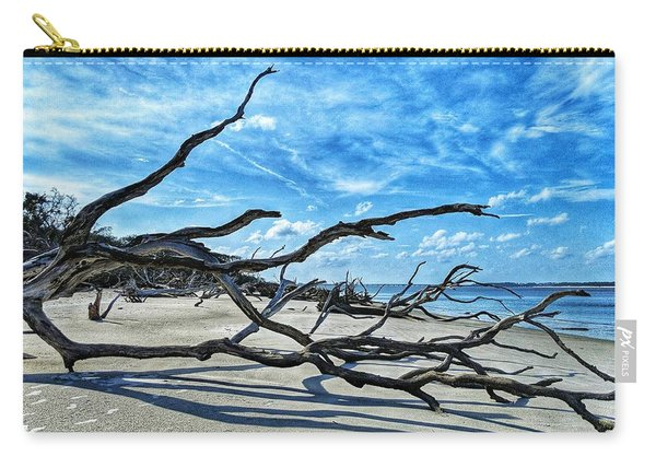 Stretch By The Sea Carry-all Pouch