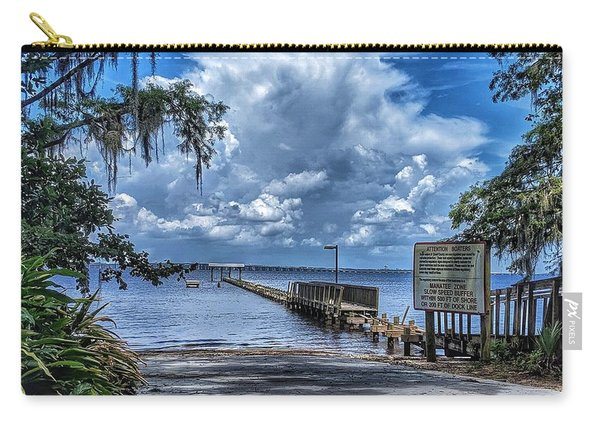 Strolling By The Dock Carry-all Pouch