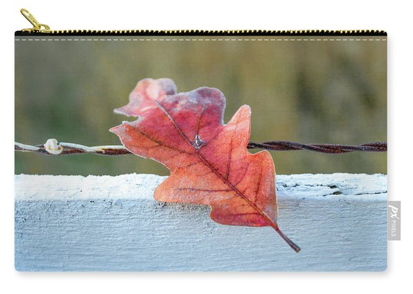 Stuck Leaf Carry-all Pouch