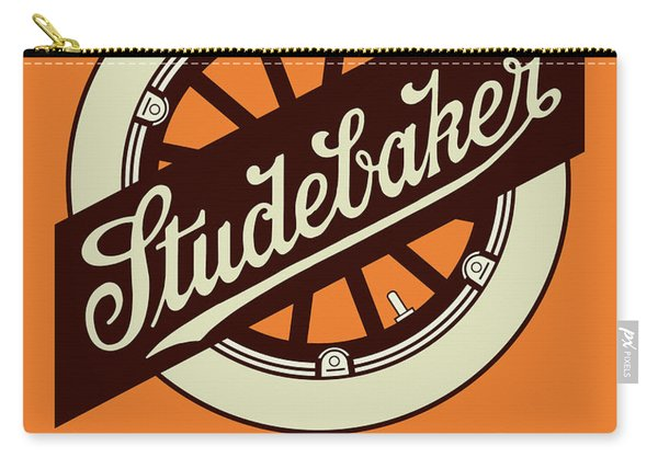 Studebaker Auto Sign Carry-all Pouch