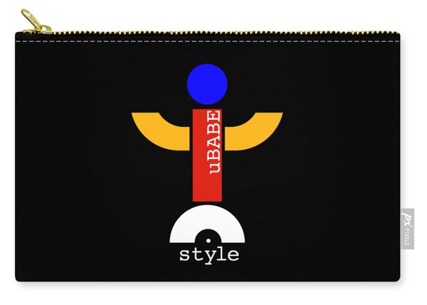 Style Black Carry-all Pouch