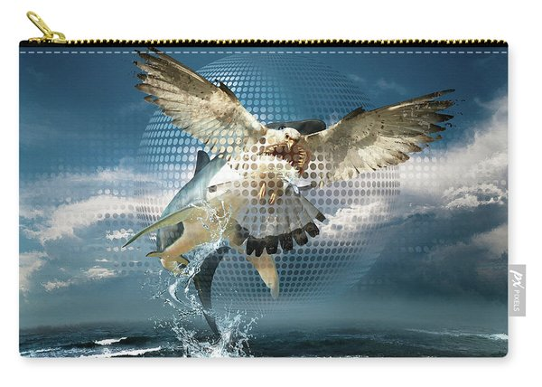 Subliminal Message Or  Optical Illusion Of Conscious Perception Carry-all Pouch