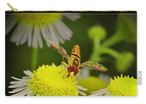Sugar Bee Wings Carry-all Pouch