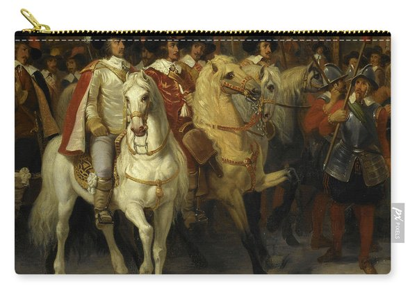 Sujet Tire De L'histoire De Cromwell Carry-all Pouch