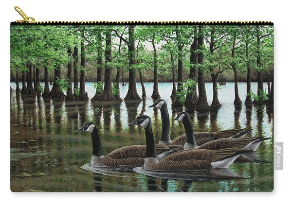 Summer Among The Cypress Carry-all Pouch