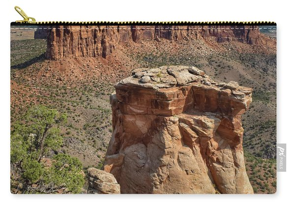 Summer At Colorado National Monument  Carry-all Pouch