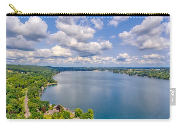 Summer Clouds On Keuka Lake Carry-all Pouch