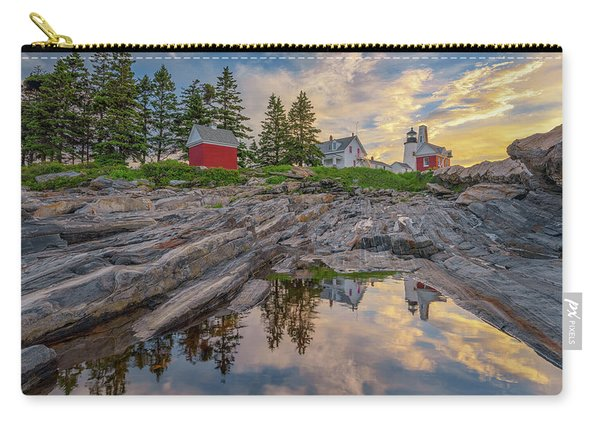 Summer Morning At Pemaquid Point Lighthouse Carry-all Pouch