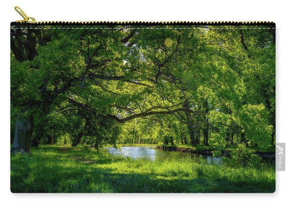 Summer Morning In The Park Carry-all Pouch