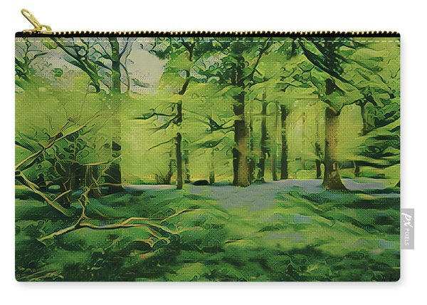 Summer Morning Mist Carry-all Pouch