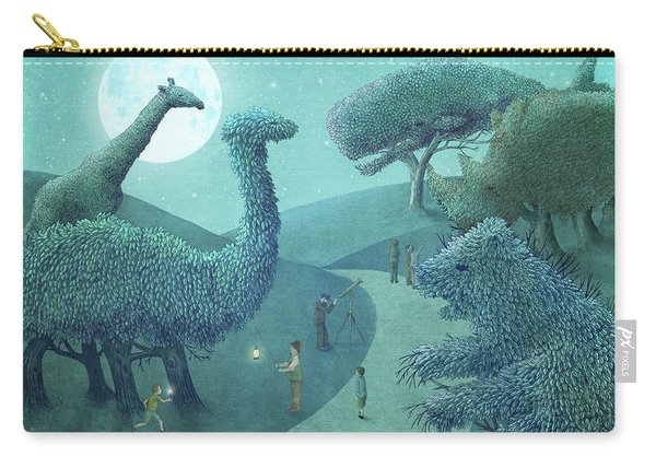 Summer Park - Night Carry-all Pouch