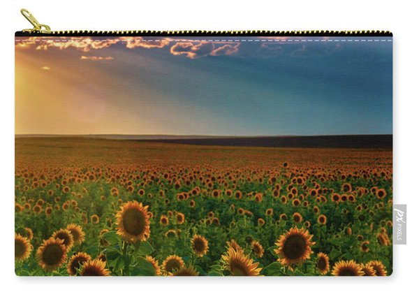Carry-all Pouch featuring the photograph Summer Season by John De Bord