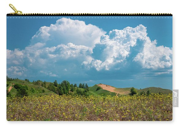 Summer Storm Over The Dunes Carry-all Pouch