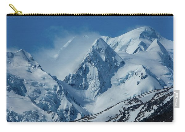 Summer Winds In Mount Cook National Park Carry-all Pouch