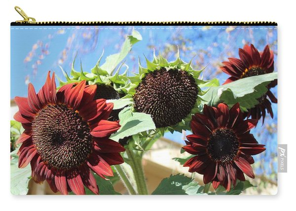 Sun Flowers At Uesugi Farms Carry-all Pouch