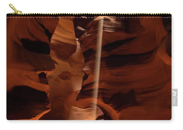 Sunbeam In Upper Antelope Canyon Carry-all Pouch