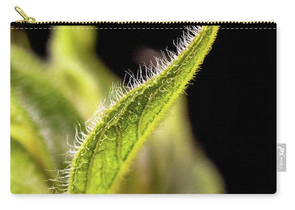 Sunflower Leaf Carry-all Pouch