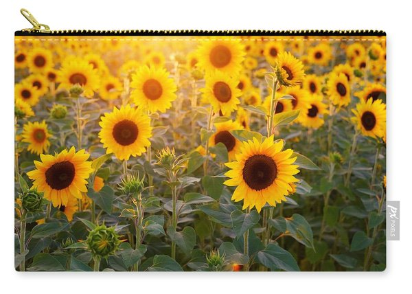 Sunflowers Field Carry-all Pouch