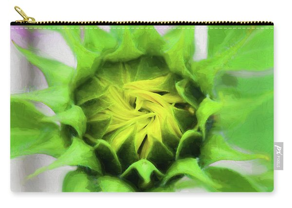 Sunflowers  Helianthus 030 Carry-all Pouch