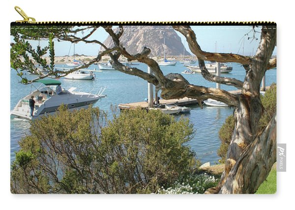 Sunny Day At Morro Bay Carry-all Pouch
