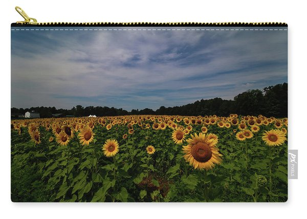 Sunny Faces In New Hampshire Carry-all Pouch