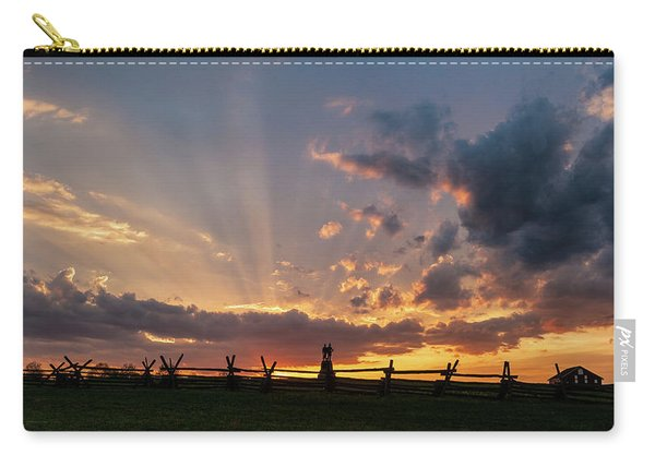 Sunrays At Sunset Carry-all Pouch