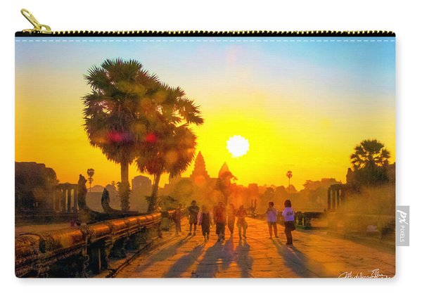 Sunrise At Angkor Wat, Cambodia Carry-all Pouch