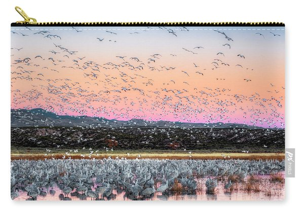 Sunrise At The Crane Pool Carry-all Pouch