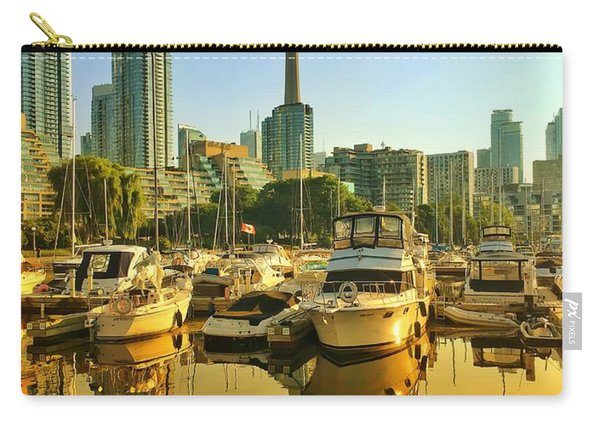 Sunrise At The Harbour Carry-all Pouch