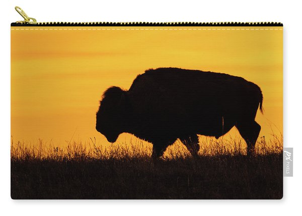 Sunrise Bison Carry-all Pouch